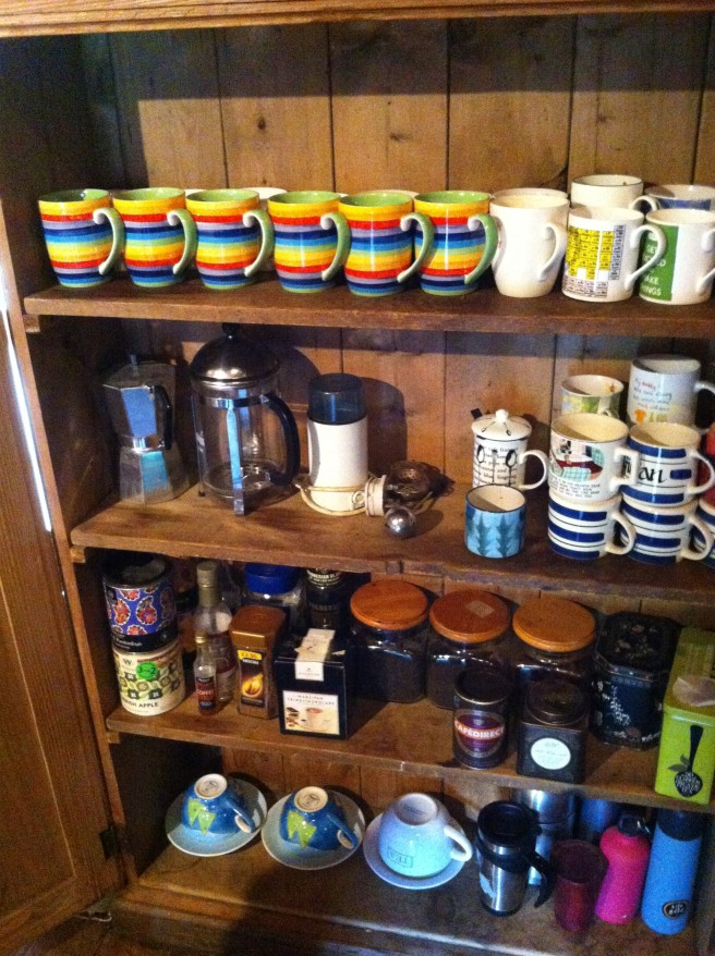 tea cupboard after